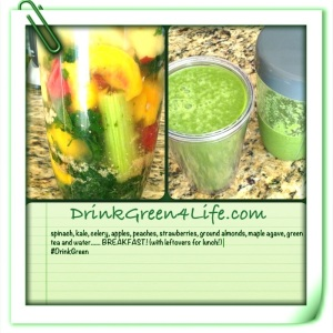 3 Fruit 3 Green Detox Smoothie