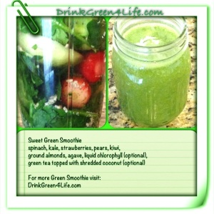 ~Sweet Green Smoothie~
