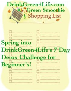 ~Shopping List~